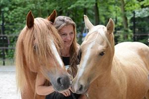 Paardrijlessen bij Wendy